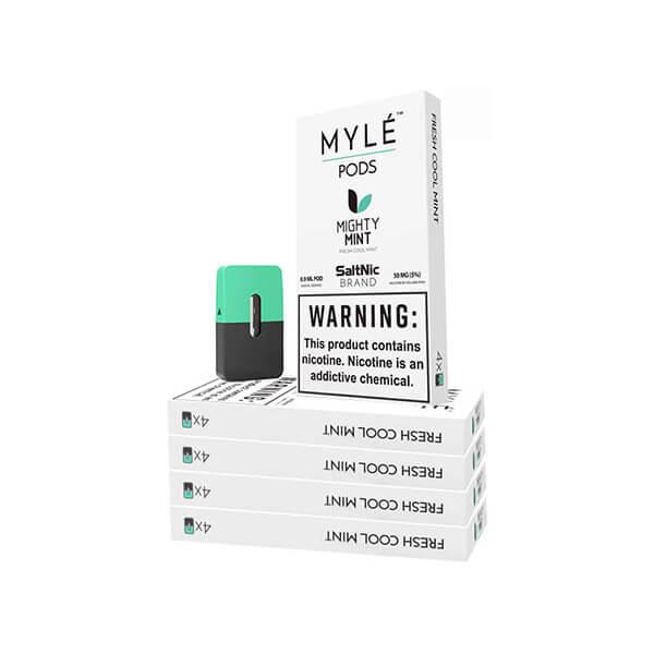 Mighty Mint Vape Pods 5 Pack by MYLÉ