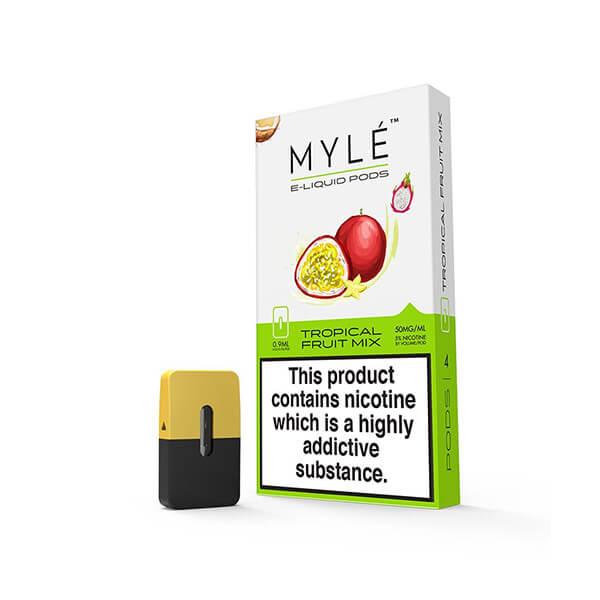 Tropical Fruit Mix 2% - Myle pods frutales