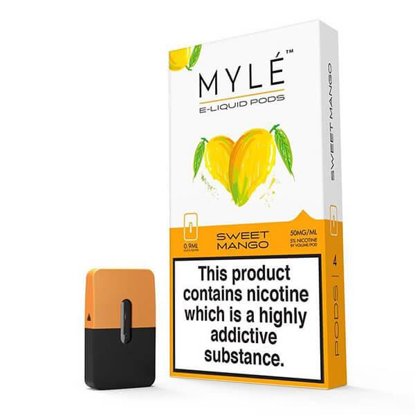 Sweet Mango Mylé 2% - 4 pods del sabor preferido de todos