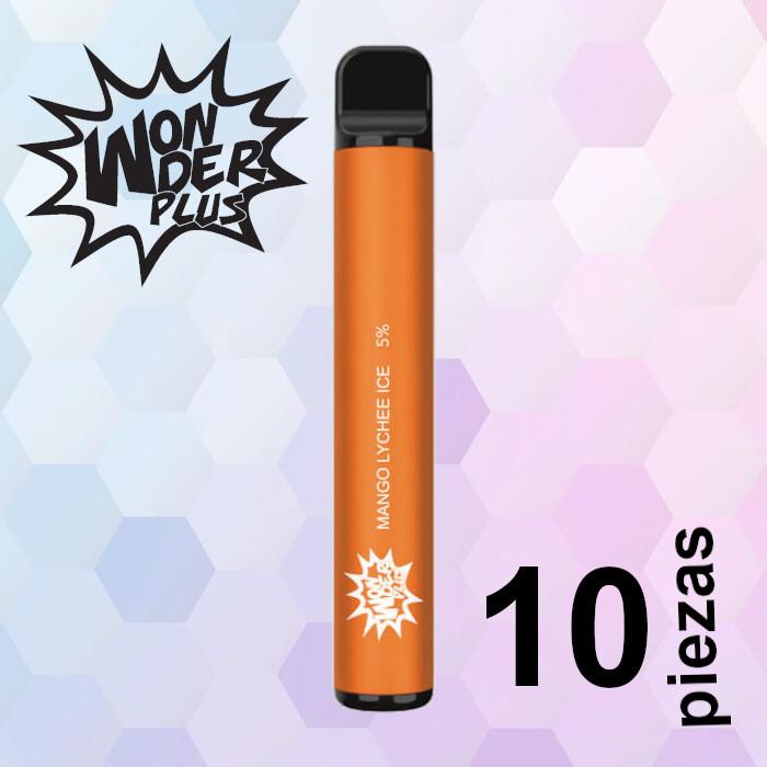 Wonder Plus Mango Lychee Ice 10 pzas