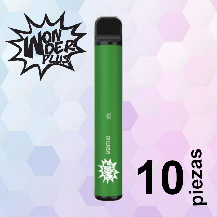 Wonder Plus Menthol 10 pzas